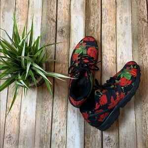 Adidas NX Flux Rose Print Shoes
